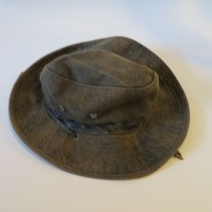 STETSON GREEN CAMO COTTON BOONIE HAT SZ: M *